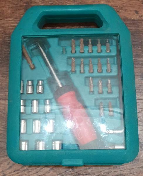 Maletín herramientas destornillador 33 piezas