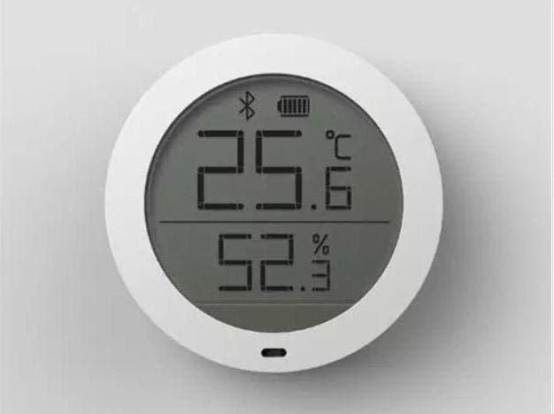 Nuevo. xiaomi mijia sensor de temperatura humedad
