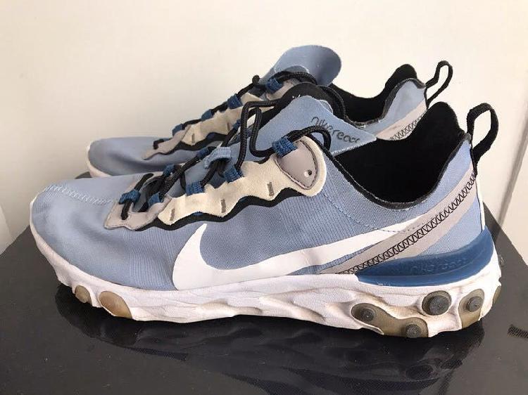 Nike react element 55 indigo fog t. 45