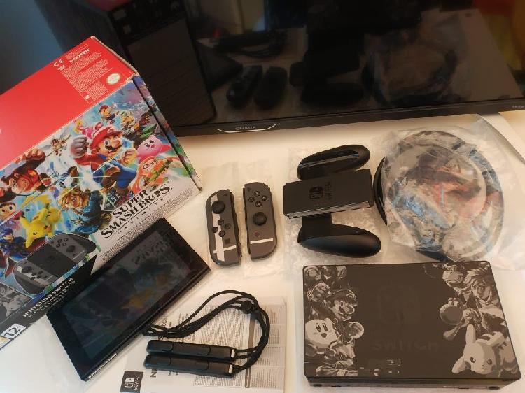 Nintendo switch 32gb como nueva ed. coleccionista