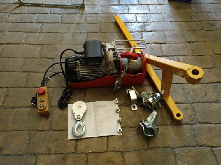 Polipasto eléctrico 600-1000 kg nuevo