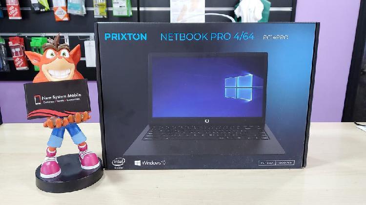 Portátil netbook pro prixton 4/64gb windows 10 pro