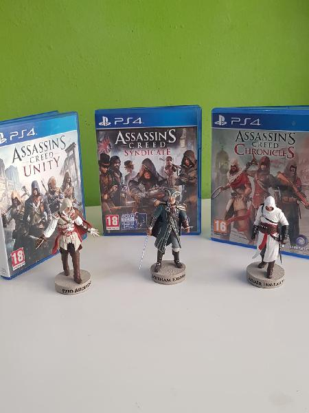 Pack assasins creed sindycate, chronicles, unity