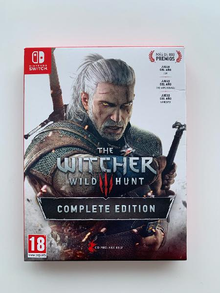 The witcher 3 complete edition nsw