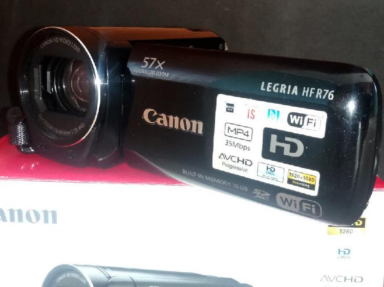 Videocámara CANON LEGRIA HF R76
