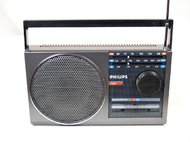 Radio philips d 2010 año 1986