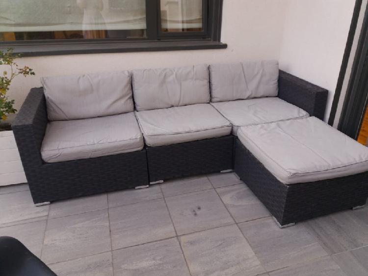 Sofa chaiselong de jardin
