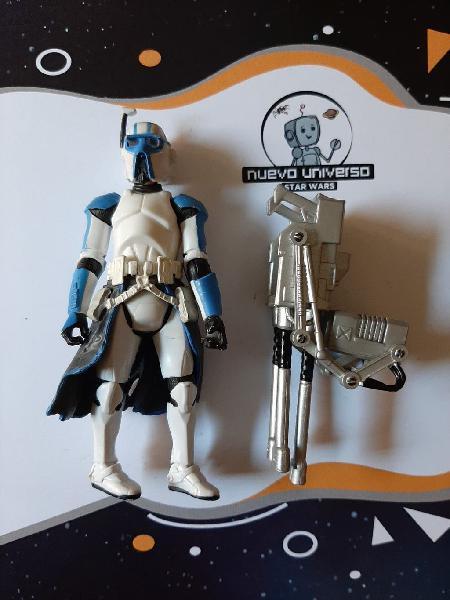 Star wars heavy gunner clone trooper