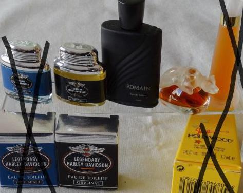 97 - miniaturas de perfumes harley-harwey-haymann