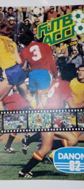 Album futbol en accion danone 82