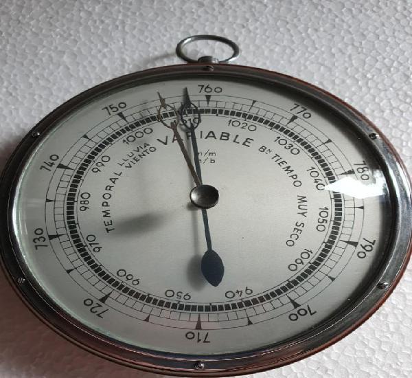 Estación reloj meteorológico