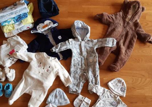 Gran lote de ropa de bebé