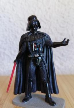 Star wars darth vader figura de plomo