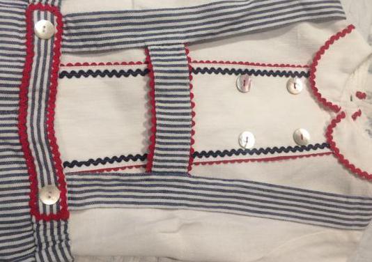 conjunto pantalón peto Nanos y camisa