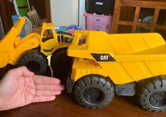 Juguetes camion y tractor
