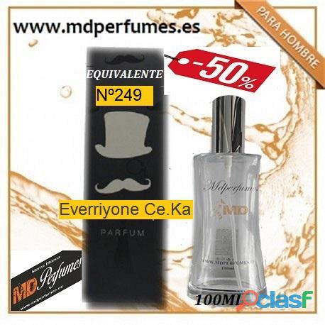 Oferta perfume hombre nº249 everriyone ce.ka alta gama 100ml 10€