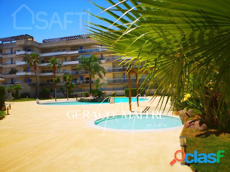 Ático 1 habitacion con vista al mar y montana, con piscinas y jaccuzi, reformado, en exclusiva con safti.