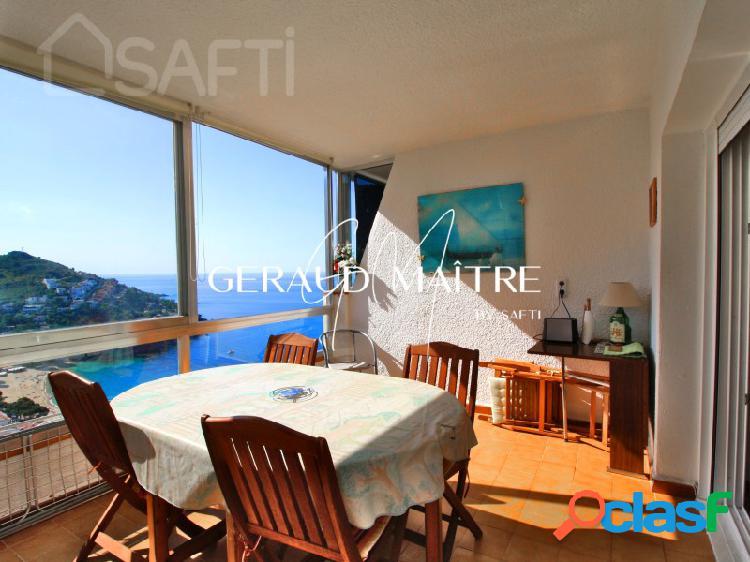 Apartamento duplex de 77 m² con 2 dormitorios, terraza vista mar, parking privado en canyelles