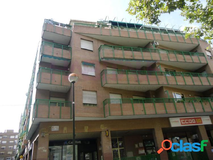 Calle santa lucía zona plaza europa, 4 dormitorios, salón, cocina y 2 baños, terraza y balcones. plaza de garaje y cuarto trastero incluidos en el precio