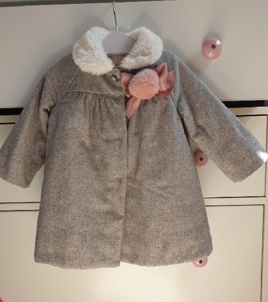 Abrigo paño gris nanos