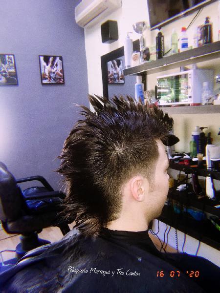Barbería corte pelo barba
