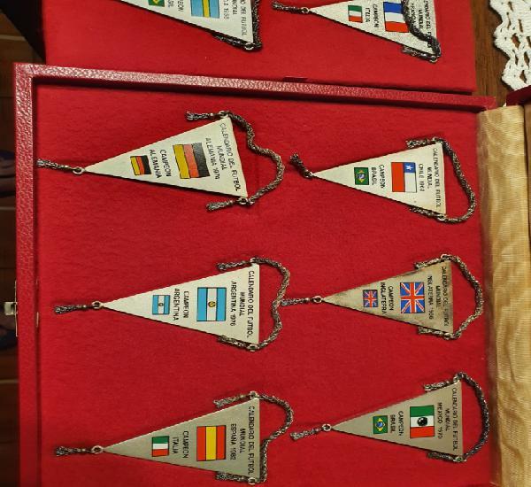Colección minibanderines mundial españa 82
