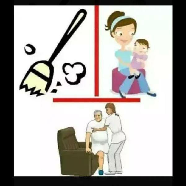 Empleada del hogar, limpieza, niñera