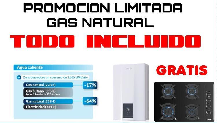 Gas natural gratuito!!