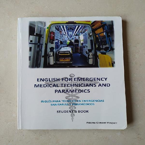 Libro english for emergency medical techinicians..