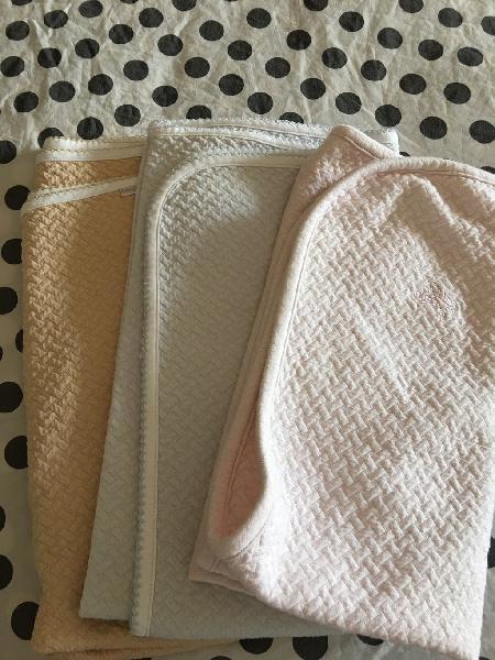 Mantas de algodón pima (70x70cm)