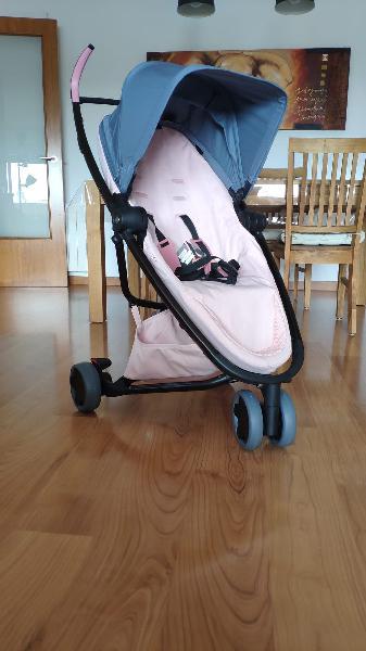 Nueva - silla de paseo quinny zapp flex rosa negra