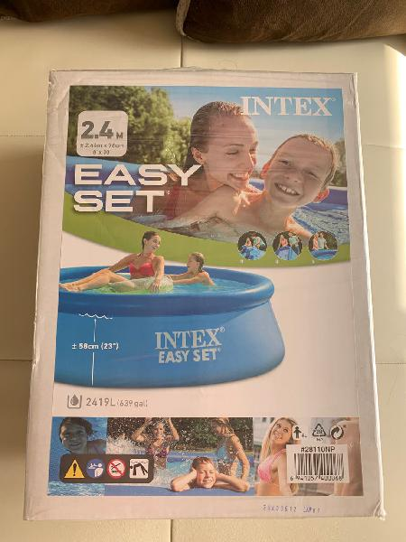 Piscina intex 244cm x 76cm nueva !
