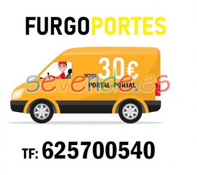 Portes en hortaleza 625700540 desde 30 euros
