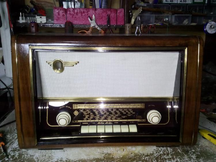 Restauracion y reparacion radios antiguas