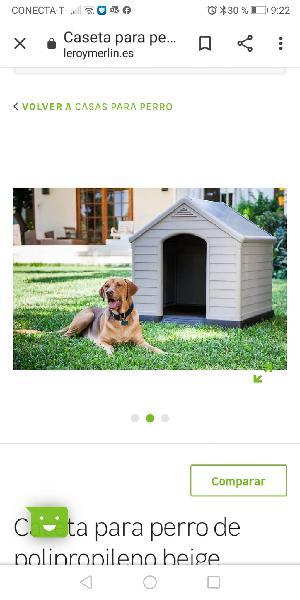 Caseta perro grande/mediano