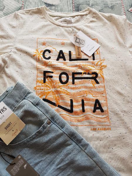 Conjunto camiseta brotes corte ingles y pantalon t