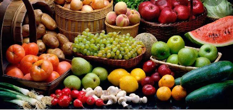 Fruta y verduras a domicilio