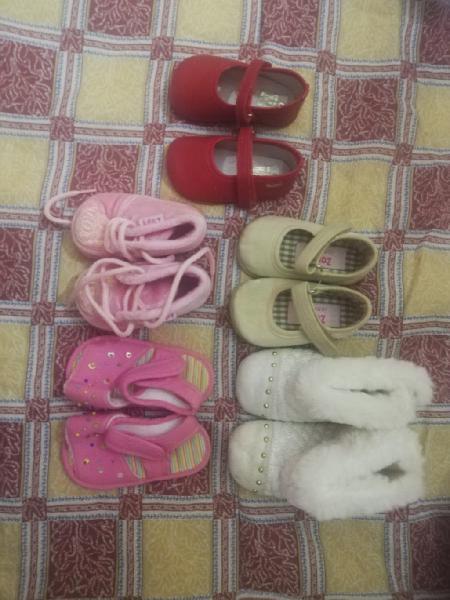 Lote zapatos de bebé