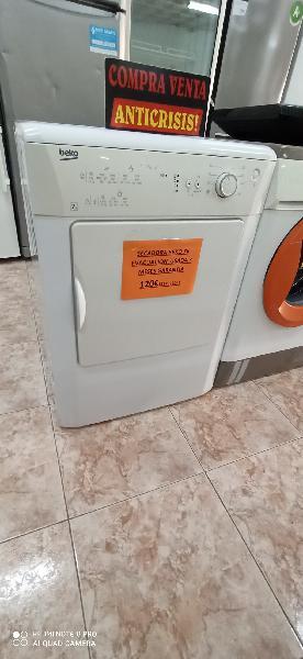 Secadora beko 7k evacuación