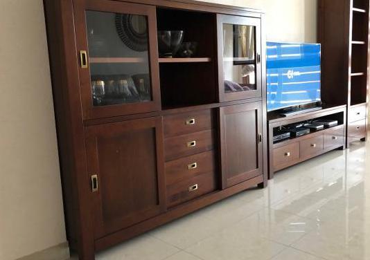 Conjunto muebles de salón y comedor