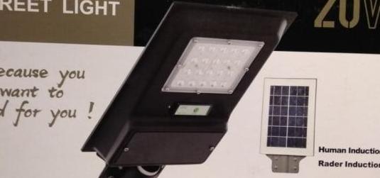 Farola led solar 20, 40, 60w nuevas