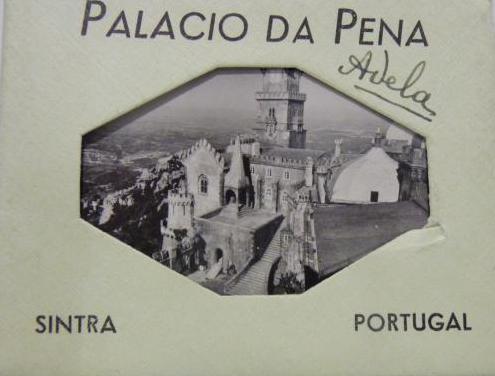 Fotografías antiguas del palacio da pena