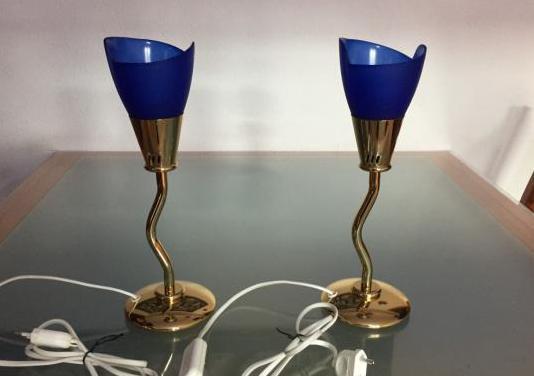 Juego de dos lamparas de mesilla