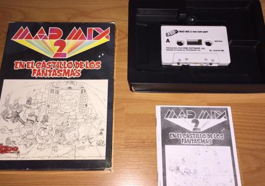 Mad mix 2 juego original spectrum
