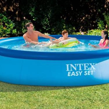 Piscina intex easy set 366x76 cm con depuradora