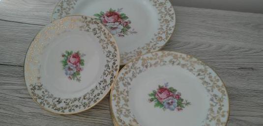 Platos de porcelana marca royal gijón