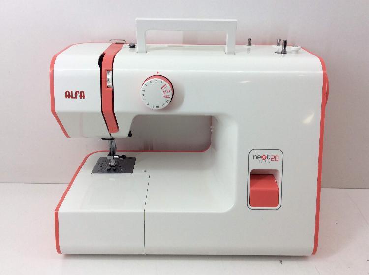 Maquina coser alfa next 20