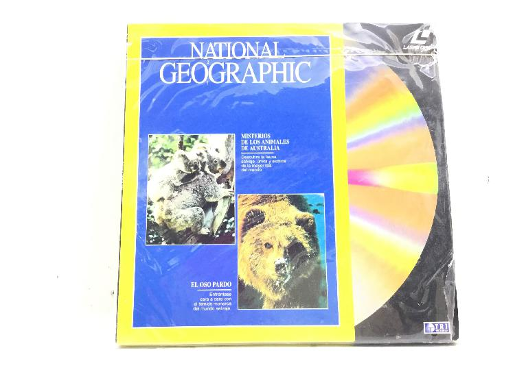 National geographic 5 laser disc