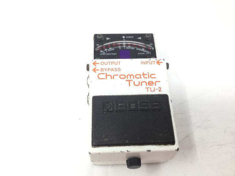 Pedal efectos boss chromatic tuner tu-2