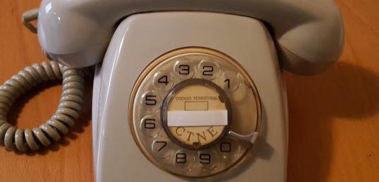 Teléfono años 70